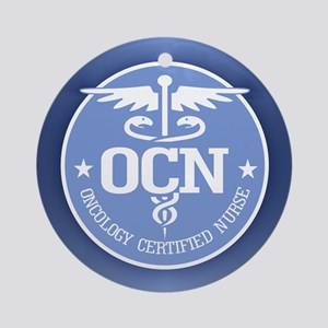 Oncology Certified Nurse Ornament (Round)