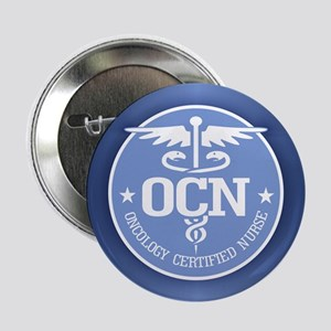 """Oncology Certified Nurse 2.25"""" Button (10 pack)"""