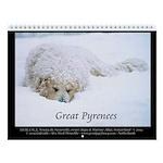 Great Pyrenees Nousty Wall Calendar