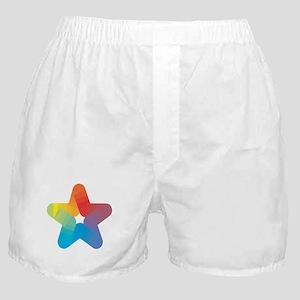 Rainbow Star Boxer Shorts