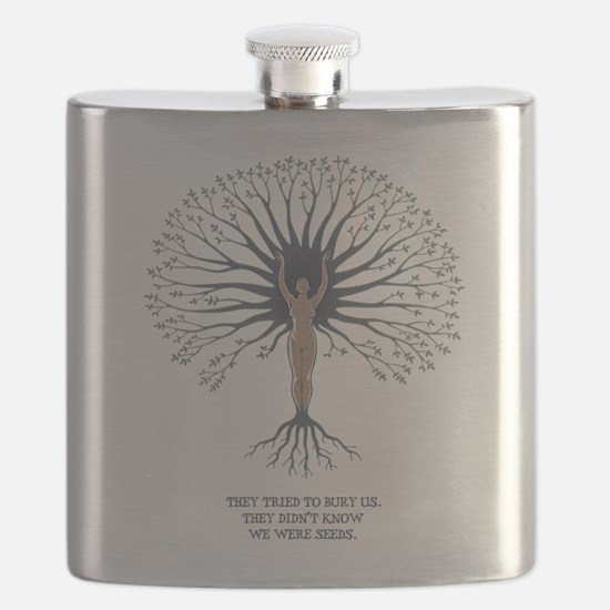 We Are Seeds Flask