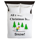 Christmas Snow Queen Duvet