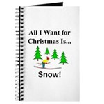 Christmas Snow Journal