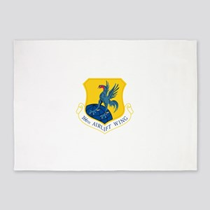 166th Airlift Wing 5'x7'Area Rug