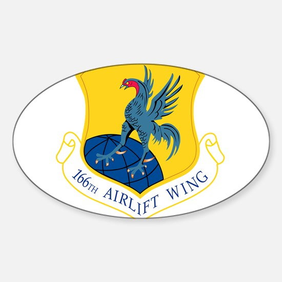 166th Airlift Wing Decal