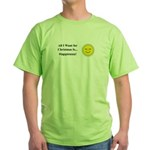 Christmas Happiness Green T-Shirt