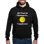 Christmas Happiness Hoodie (dark)