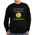 Christmas Happiness Sweatshirt (dark)