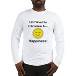 Christmas Happiness Long Sleeve T-Shirt