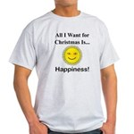 Christmas Happiness Light T-Shirt