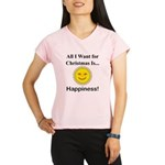 Christmas Happiness Performance Dry T-Shirt