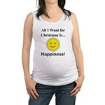 Christmas Happiness Maternity Tank Top