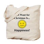 Christmas Happiness Tote Bag