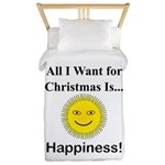 Christmas Happiness Twin Duvet