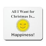 Christmas Happiness Mousepad