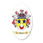 Hague 20x12 Oval Wall Decal