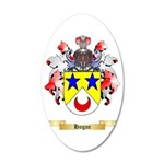 Hague 35x21 Oval Wall Decal