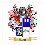 Hagon Square Car Magnet 3