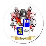 Hagon Round Car Magnet