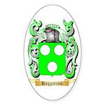 Haggstrom Sticker (Oval 50 pk)