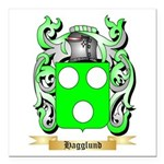 Hagglund Square Car Magnet 3