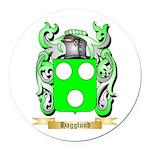 Hagglund Round Car Magnet