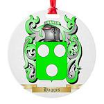 Haggis Round Ornament
