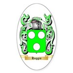 Haggis Sticker (Oval)