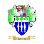 Haggett Square Car Magnet 3