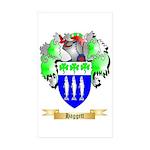 Haggett Sticker (Rectangle 50 pk)