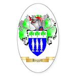 Haggett Sticker (Oval 50 pk)