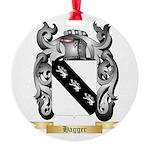 Hagger Round Ornament