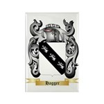 Hagger Rectangle Magnet (100 pack)