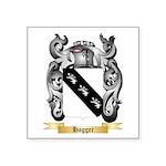 Hagger Square Sticker 3