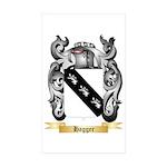 Hagger Sticker (Rectangle 50 pk)