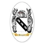 Hagger Sticker (Oval 10 pk)