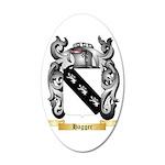 Hagger 35x21 Oval Wall Decal
