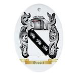 Hagger Ornament (Oval)