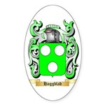 Haggblad Sticker (Oval 50 pk)