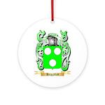 Haggblad Ornament (Round)
