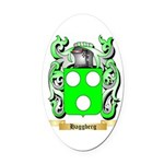 Haggberg Oval Car Magnet