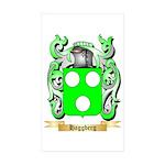 Haggberg Sticker (Rectangle 10 pk)