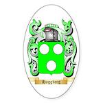 Haggberg Sticker (Oval 50 pk)