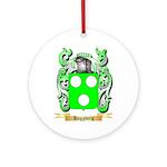 Haggberg Ornament (Round)