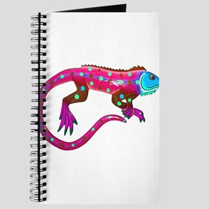 Hot Pink Fiesta Lizard Journal