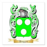 Haggas Square Car Magnet 3
