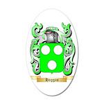 Haggas 35x21 Oval Wall Decal