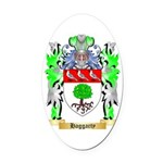 Haggarty Oval Car Magnet