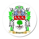 Haggarty Round Car Magnet