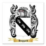 Haggard Square Car Magnet 3